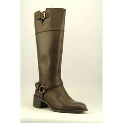 $100 Womens Chaps Wide Calf Knee High Boots by Ralph Lauren