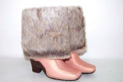 Timberland 14 Inch Baychester Furf 98369 Peach/Fur Women Boo