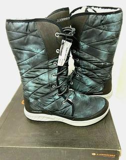 $140 Merrell Pechora Peak Winter Boots NIB Size 10 Fur Lined