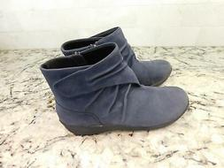 $150 CLARKS Women's Sillian Tana Fashion Boot black sz 8.5 b