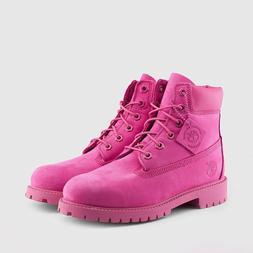 "2016 Timberland 6"" Inch Boots Premium Boots PRM ROSE NUBUCK"