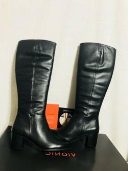 Vionic 324 Tahlia Womens Knee High Tall Leather Boots Size 8