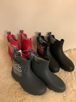 $55 NEW Women's Totes Cirrus Chelsea Ankle Rain Boots At Dif