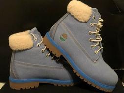 timberland  6 inch premium Fabric boots Womens Light Blue Ju