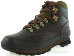 TIMBERLAND 8364B EURO HIKER WOMEN'S BROWN LEATHER BOOTS Sz 9