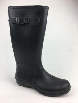 Kamik Women's Olivia Black Rain Boots Size 10 245