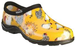 SLOGGERS 5116CDY09 SIZE 9 WOMENS GARDEN SHOE YELLOW CHICKEN