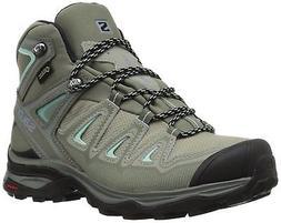 Salomon Women's X Ultra 3 Mid GTX W Hiking Boot,Shadow,8 M U