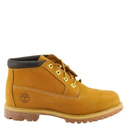 Timberland Womens Nellie NuBuck Round Toe Ankle Working, Whe