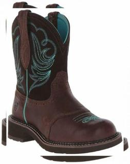 Ariat Women's Fatbaby Heritage Western Cowboy Boot, Tooled B