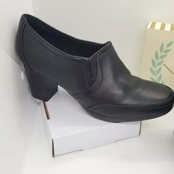 Clarks Bendables Black Ankle Boots Size 9