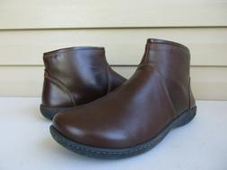 Birkenstock Bennington Womens Brown Leather Ankle Boots size