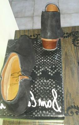Sam Edelman Black  Suede  Boots For Women