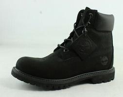 """Timberland Women's 6"""" Premium Boot, Black Nubuck, 36 EU/5.5"""