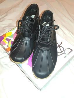 Refresh Brand Garden Duck Ankle Boots Womens Size 5