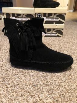 brand new mocassins womens high top boots