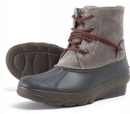 BRAND NEW Sperry Top Sider Saltwater Women's Duck Boots SZ 5