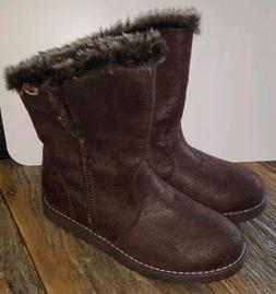Skechers Brown Boots Women's Size 6.5