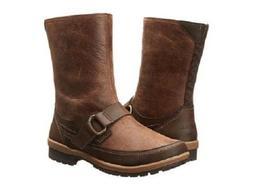 Merrell Brown Leather Emery Buckle Zip Women's Boots 7 M- Re