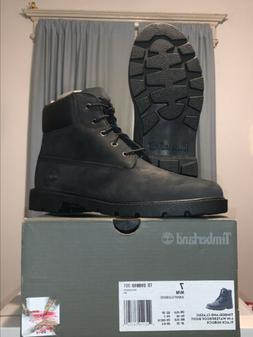 Timberland Classic 6In Waterproof Boot Black Nubuck Size 7M/