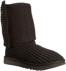 Women's Ugg Classic Cardy Ii Knit Boot, Size 8 M - Black