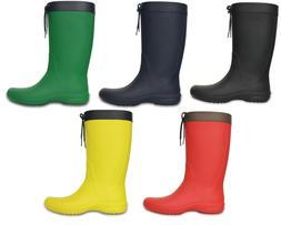 Crocs Freesail Rain Boot Womens Shoes Rubber Boot Wellington