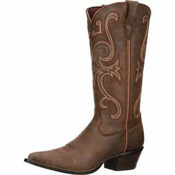 Crush by Durango Women's Brown Jealousy Western Cowgirl heel