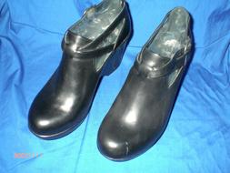 Danko shoes,black leather,size 39 eurpean womans new never w