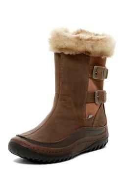 Merrell Decora Chant Waterproof Boots  Size 5 Brown Tan Blac
