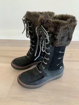 Merrell Decora Prelude 200 Gram Insulation Black Boots Women