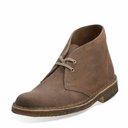 Clarks Originals Desert Boot Women Taupe Distressed Suede Ch