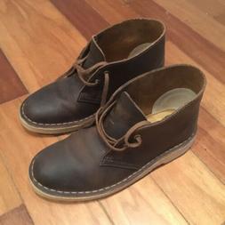 Clarks Desert Boots Womens Size 5 Beeswax