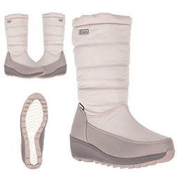 Kamik Detroit Women's Nylon Waterproof Snow Boots Cold Weath