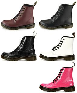 "Dr ""Doc"" Martens Luana Women's Lace Up Boots Shoes NIB"