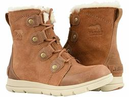 Sorel Explorer Joan Camel Brown Waterproof Boot - NEW - Choo