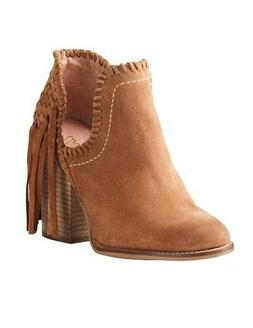 Ariat Fashion Boots Womens Lily Ankle Fringe Whiskey 1002128