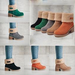 Fashion Women Winter Snow Boots Warm Short Plush Lady's Shoe