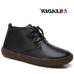 <font><b>ALEADER</b></font> Genuine Leather Ankle <font><b>B