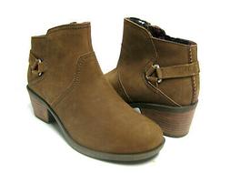 TEVA FOXY ANKLE WOMEN BOOTS LEATHER BISON US 9.5 /UK 7.5 /EU