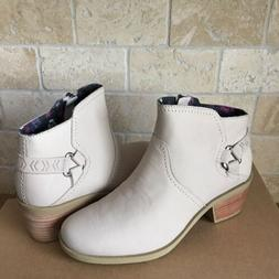 TEVA FOXY TAUPE NUBUCK LEATHER ANKLE BOOTS BOOTIES SIZE US 8