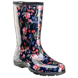 Sloggers Fresh Cut Navy Rain and Garden Waterproof Boots