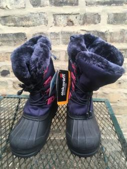 DREAM PAIRS Fuchsia & Navy Thinsulate  Faux Fur Lined Winter