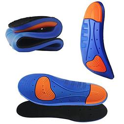 Sports Gel Insoles and Shoe Inserts for Women and Men Breath