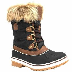 Genuine Global Win  Brown Size 6 Women's Snow Boots **NEW IN