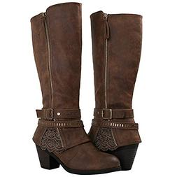 Globalwin Women's 18YY32 Brown Fashion Boots 9.5M