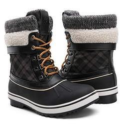 e5f536929034 Global Win GLOBALWIN Women s Waterproof Winter Snow Boots