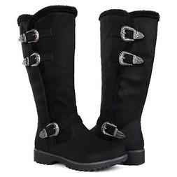 Globalwin Women's Winter Fasion Boots 15black 8.5 M US