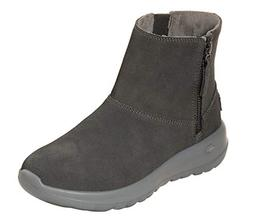 Skechers On The GO Joy Goldy Womens Ankle Boots Charcoal 6.5