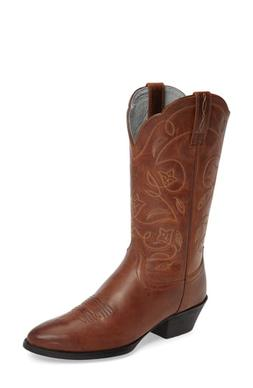 Women's Ariat Heritage Western R-Toe Boot, Size 11 M - Red