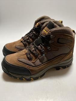HI-TEC Men's Skamania Mid Waterproof Hiking Boots 9 Brown Go